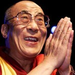 His Holiness, the 14th Dalai Lama encourages us to never give up