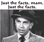 Just the facts JoeFriday