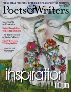 Poets and Writers magazine janfeb_2013_cover