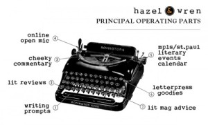 hazel and wren about_typewriterparts-e1311628436175