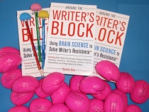 Free your brain from stress with one of these free pink stress-ball brains