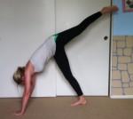 yoga leg up