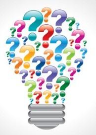 Question-lightbulb