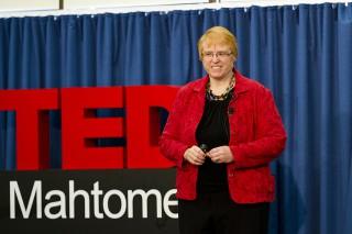 Rosanne Bane at TEDx Mahtomedi 2015