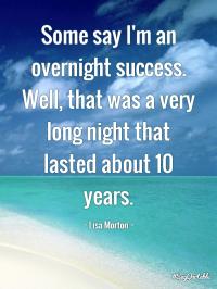 success overnight writer's block