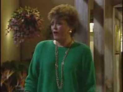 Blanche has Writer's Block