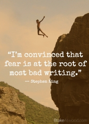 stephen-king fear writer's block
