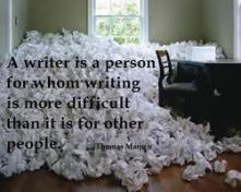 writer is