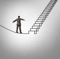 tightrope steps writer's block canstockphoto19626243