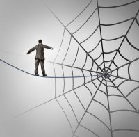 tightrope web writer's block canstockphoto18200840