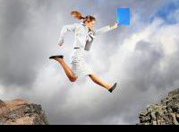 leap of faith writer's block canstockphoto14135040