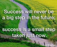 success step by step