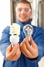 With actual light bulbs, choose efficiency; for metaphorical light bulbs, choose creativity