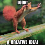squirrel creative idea